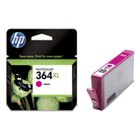 HP 364XL Extra Large Capacity Magenta Ink Cartridge - CB324E