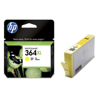 HP 364XL Extra Large Capacity Yellow Ink Cartridge - CB325E