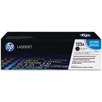 HP CB540A Black Laser Toner Cartridge - CB540A (125A)