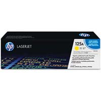 HP CB542A Yellow Laser Toner Cartridge - CB542A
