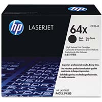 HP CC364X High Capacity Black (64X) Toner Cartridge - CC 364X