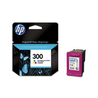 HP 300 Standard Capacity Vivera Colour Ink Cartridge - CC643E