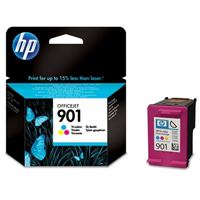 HP 901 Vivera Colour Ink Cartridge - CC656A
