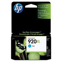 HP 920XL High Capacity Cyan Ink Cartridge - CD972A