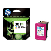 HP 301XL High Capacity Tri-Colour Ink Cartridge - CH564E