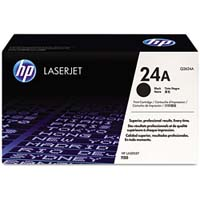 HP Original Q2624A Laser Toner Cartridge (24A)