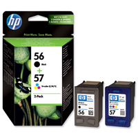 HP Multi Pack 56 Black and 57 Colour Ink Cartridges