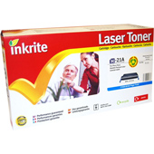 Inkrite Premium Quality Compatible for HP C9721A Cyan Laser Cartridge