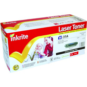 Inkrite Premium Quality Compatible Laser Cartridge for HP CB435A