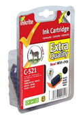 Inkrite Premium Quality CLI 521BK Black Ink Cartridge ( 521 Black )