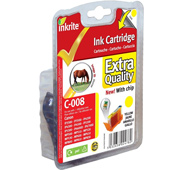 Inkrite Premium Quality CLI-8Y Yellow Cartridge