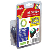 Inkrite Premium Quality Colour Ink Cartridge (Alternative to HP No 342, C9361E)