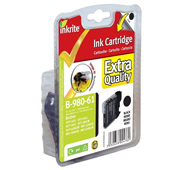 Inkrite Premium Quality LC-980 / LC-1100 Black Ink Cartridge