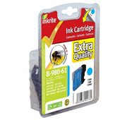 Inkrite Premium Quality LC-980 / LC-1100 Cyan Ink Cartridge