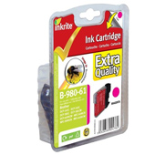 Inkrite Premium Quality LC-980 / LC-1100 Magenta Ink Cartridge
