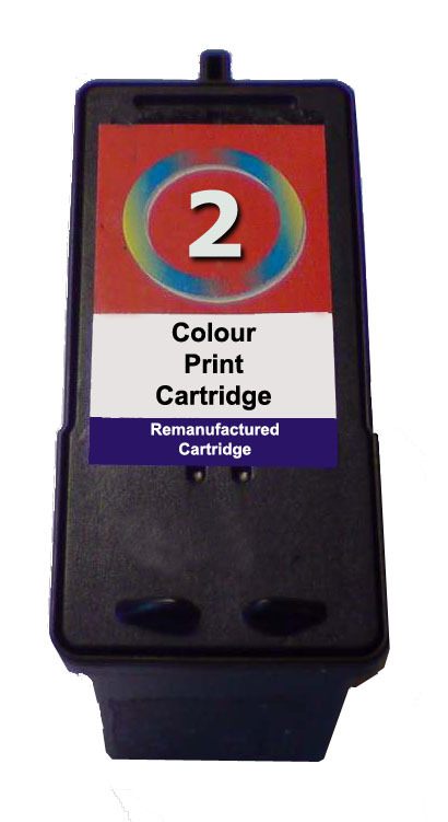 Inkrite Premium Quality Colour Ink Cartridge (Alternative to Lexmark No 2, 18C0190E)