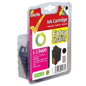 Inkrite Premium Quality Black Ink Cartridge (Alternative to Lexmark 13400HC)
