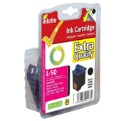 Inkrite Premium Quality Black Ink Cartridge (Alternative to Lexmark No 50, 17G0050E)