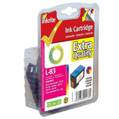 Inkrite Premium Quality Colour Ink Cartridge (Alternative to Lexmark No 83, 18LX042E)