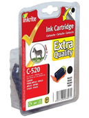 Inkrite Premium Quality PGI 520BK Black Ink Cartridge ( 520 Black )