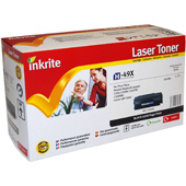 Inkrite Premium Quality Compatible HP 49X High Capacity Laser Cartridge