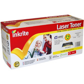 Inkrite Premium Quality Compatible Yellow HP 6002A Laser Cartridge