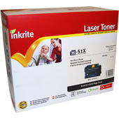 Inkrite Premium Quality Compatible HP 51X High Capacity Laser Cartridge