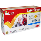 Inkrite H-7581 Premium Quality Compatible HP Q7581A Cyan Laser Cartridge