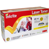 Inkrite H-7582 Premium Quality Compatible HP Q7582A Yellow Laser Cartridge