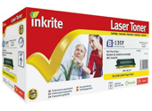 Inkrite Hi-Cap Yellow Laser Toner Compatible with Brother TN-135Y