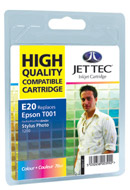 Jet Tec ( Made in the UK) Colour Ink Cartridge for T001011