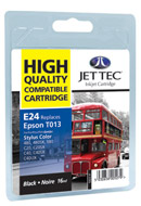 Jet Tec ( Made in the UK) Black Ink Cartridge for T013401
