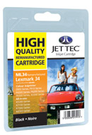 Replacement Black Ink Cartridge (Alternative to Lexmark No 28)
