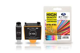 Jettec K10MP Replacement Multi Pack Black and Colour Ink Cartridges (Alternative to Kodak 10 3949948)