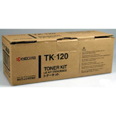 Kyocera TK120 Black Toner Cartridge - TK 120, 7.2K Page Yield