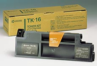 Kyocera TK16 Black Toner Cartridge - TK 16, 3K Page Yield