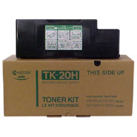 Kyocera TK20H Black Toner Cartridge - TK 20h, 20K Page Yield