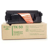 Kyocera TK50H Black Toner Cartridge - TK 50H, 15K Page Yield