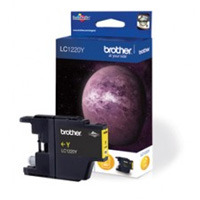 Brother Yellow Ink Cartridge, LC-1220Y