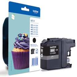 Brother LC123 Ink Cartridge Black, LC-123BK