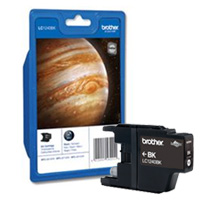 Brother Standard Capacity Black Ink Cartridge, LC-1240BK