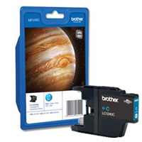 Brother Standard Capacity Cyan Ink Cartridge, LC-1240C