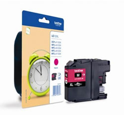 Brother High Capacity Magenta Ink Cartridge, LC-125XLM