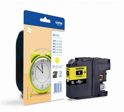 Brother High Capacity Yellow Ink Cartridge, LC-125XLY