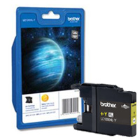 Brother High Capacity Yellow Ink Cartridge, LC-1280XLY