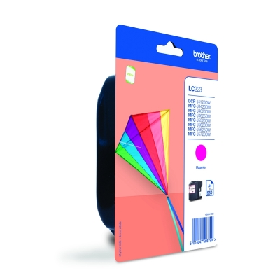 Brother LC223 Ink Cartridge Magenta, LC-223M Inkjet Printer Cartridge