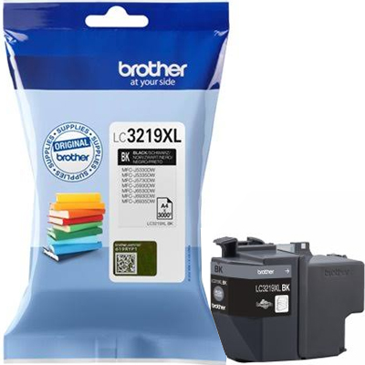 Brother LC3219XL Ink Cartridge Black, LC-3219XLBK Inkjet Printer Cartridge
