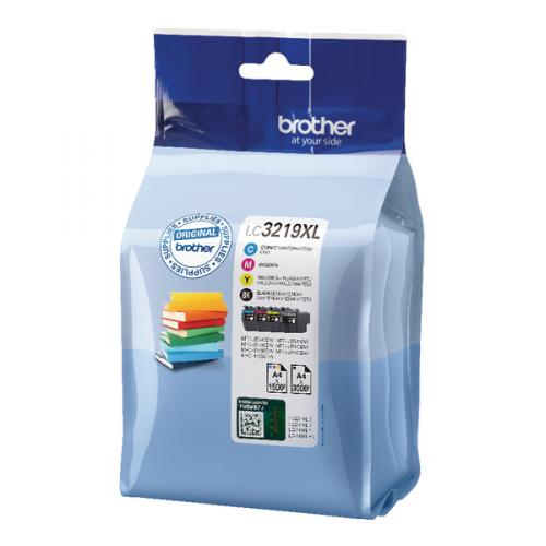 Brother LC3219XL Ink Cartridges, LC-3219XLVALBP