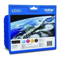 Brother Innobella LC 985 BK/C/M/Y Multi Pack Ink Cartridges