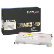 Compatible RL1402Y Yellow Laser Cartridge for Lexmark 20K1402